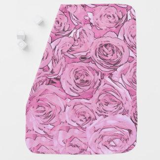 Pink Roses Baby Blanket