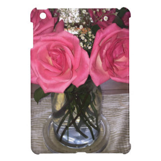 Pink Roses Cover For The iPad Mini