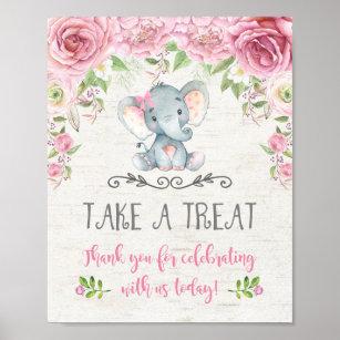 Baby Elephant Posters Crafts Party Supplies Zazzle Com Au