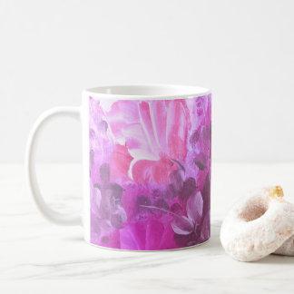 Pink Roses Flowers Vintage Watercolor Art Mug
