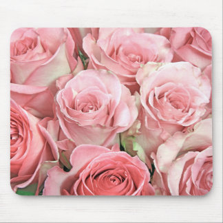 Pink Roses Mouse Pad