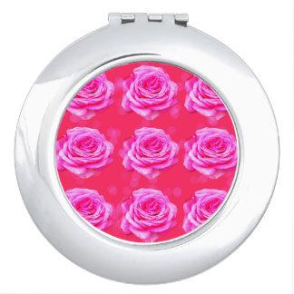 Pink Roses On Pink Bokeh, Makeup Mirrors