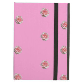 Pink Roses on Pink Cover For iPad Air