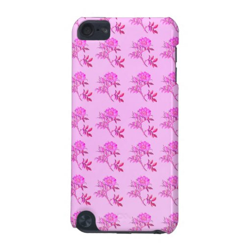 Pink Roses pattern iPod Touch 5G Case