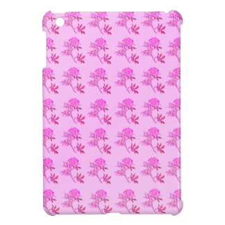 Pink Roses pattern iPad Mini Cover