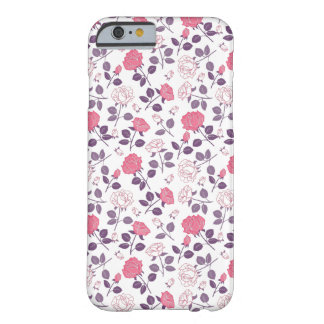 Pink roses pattern Iphone case