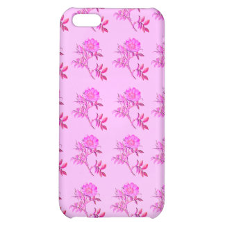 Pink Roses pattern iPhone 5C Cases