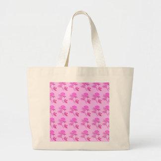 Pink Roses pattern Jumbo Tote Bag