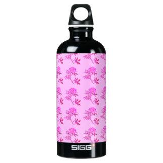 Pink Roses pattern SIGG Traveller 0.6L Water Bottle