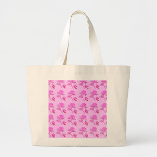 Pink Roses pattern Canvas Bags