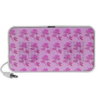 Pink Roses pattern Travelling Speaker