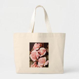 Pink Roses Totebag Tote Bag