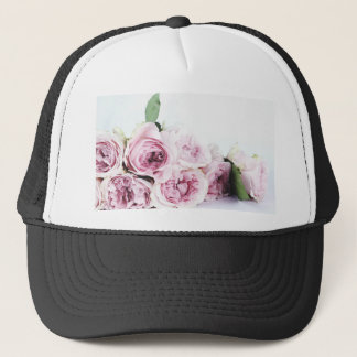 Pink Roses Trucker Hat