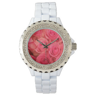Pink Roses Watch