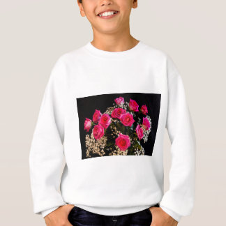 Pink Roses With All My Love Sweatshirt