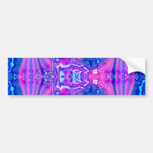 Pink Royal Dreams Bumpersticker Bumper Stickers