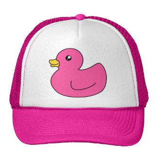 Pink Rubber Duck Cap