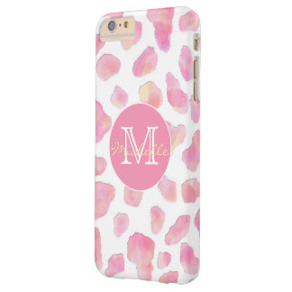 PINK SAFARI | Pink Leopard Monogram Phone Case