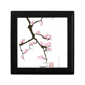 pink sakura and birds, tony fernandes gift box