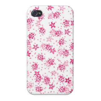 Pink Sakura Case Cover For iPhone 4