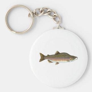 Pink Salmon Key Ring