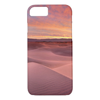 Pink sand dunes, Death Valley, CA iPhone 8/7 Case