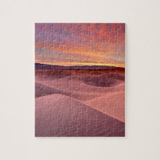 Pink sand dunes, Death Valley, CA Jigsaw Puzzle