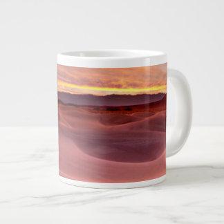 Pink sand dunes, Death Valley, CA Large Coffee Mug