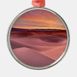 Pink sand dunes, Death Valley, CA Metal Ornament