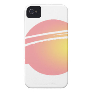 Pink Saturn iPhone 4 Case