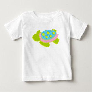 Pink Sea Turtle Cotton T Shirt