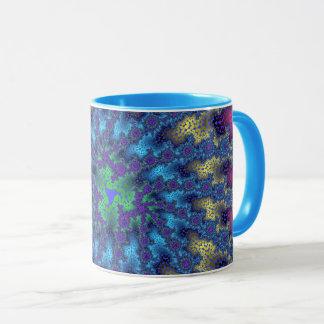 Pink Seafoam Burst Mug