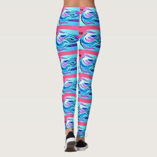 Pink Seahawk's Tights/Leggings Leggings