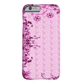Pink Secret Garden Barely There iPhone 6 Case