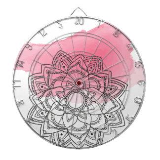 Pink sends it dartboard