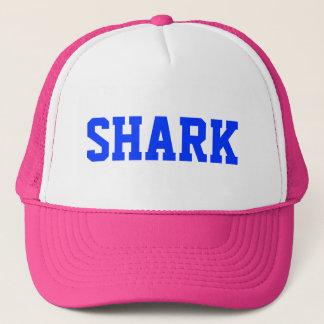 Pink Shark Trucker Hat