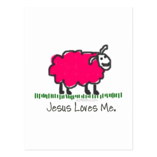 Pink Sheep Post Cards