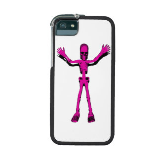 Pink Skeleton Case For iPhone 5/5S