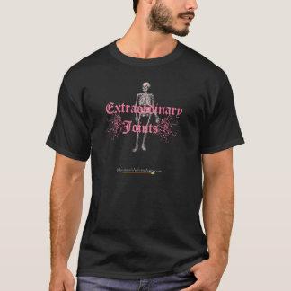 Pink skeleton logo T-Shirt