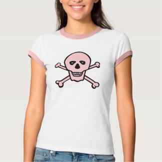 Pink Skull and Cross Bones T-Shirt