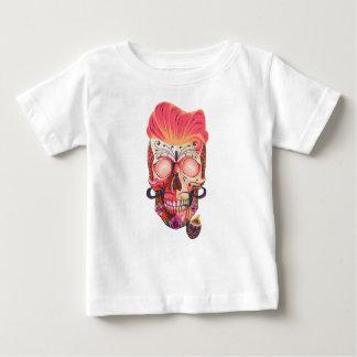 pink skull baby T-Shirt