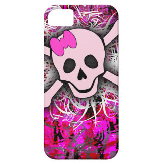 Pink Skull iPhone 5 Case For The iPhone 5