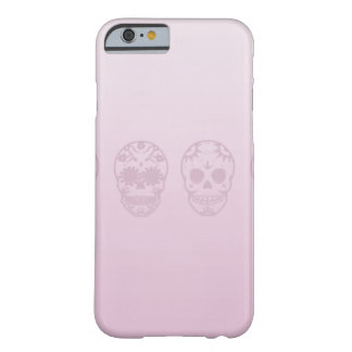 pink skulls box barely there iPhone 6 case