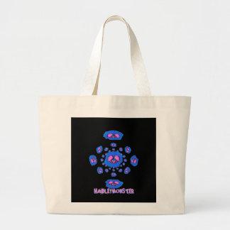 Pink Skulls Spinning Tote Bags