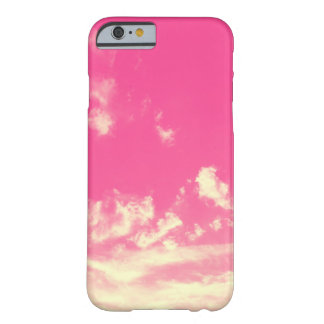 Pink Sky and Yellow Clouds Barely There iPhone 6 Case
