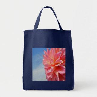 Pink Sky Grocery Tote Bag