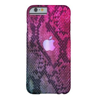 Pink Snake skin style case