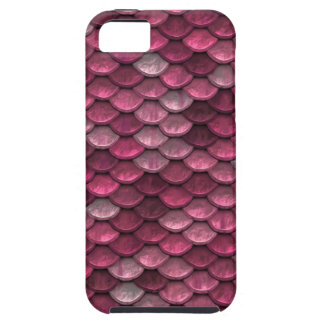 Pink Snakeskin Background Case For The iPhone 5