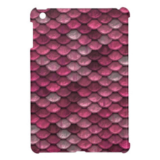 Pink Snakeskin Background Cover For The iPad Mini