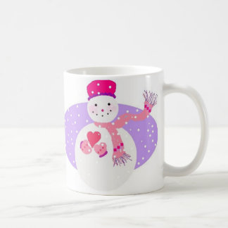Pink Snow Gal Mug